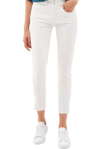 Jean skinny court SECRET Blanc