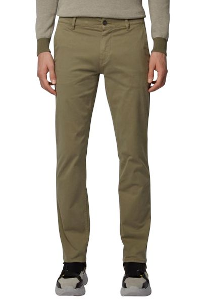 Pantalon chino basic slim stretch SCHINOSLIM D Vert