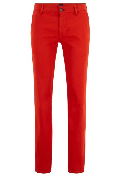 Pantalon chino basic slim stretch SCHINOSLIM D Orange