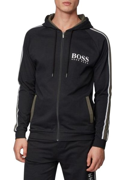 Veste de jogging bandes sur les manches AUTHENTIC JACKET Noir