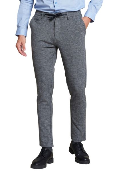 Pantalon jogging Gris chine