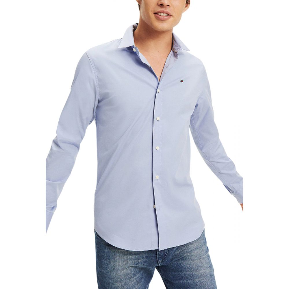 Chemise manches longues slim extensible