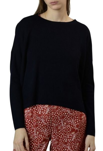 Pull col rond ASTRID Noir