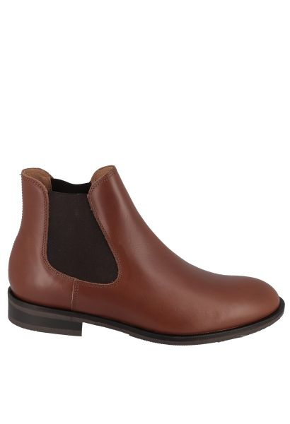 Boots chelsea LOUIS LEATHER Cognac