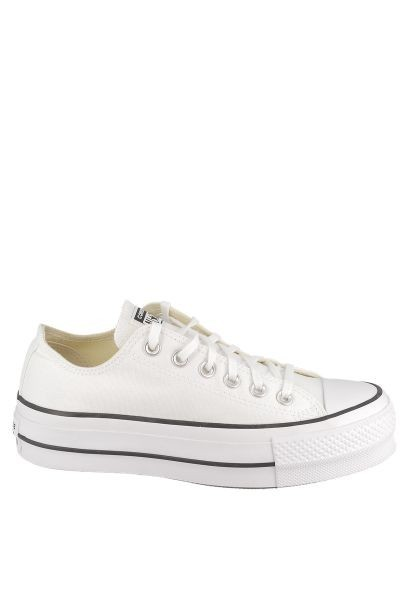 Basket basic basses plato CHUCK TAYLOR ALL STAR LIFT OX Blanc