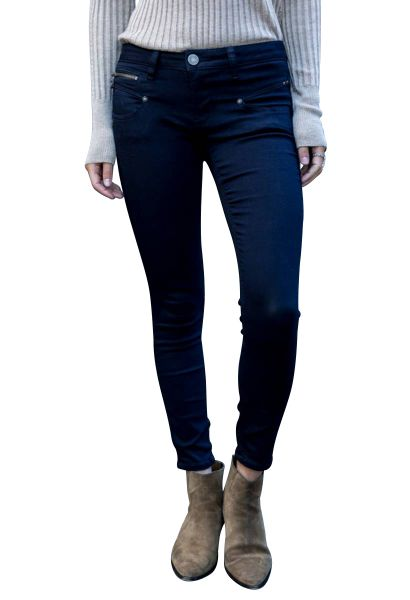 Jean cropped stretch super slim ALEXA Noir
