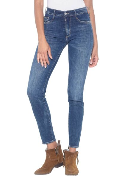 Jean skinny taille haute POWER HIGH Brut used
