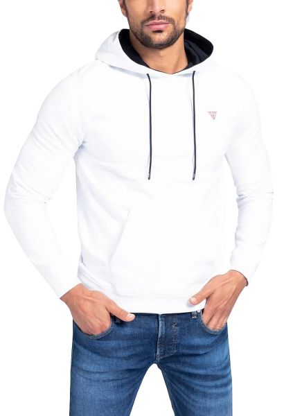 Sweat capuche CHRISTIAN Blanc