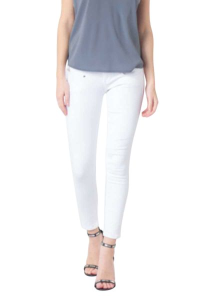 Jean cropped super slim ALEXA Blanc
