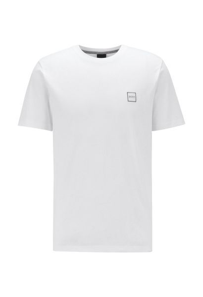 Tee shirt manches courtes basic col rond TALES Blanc
