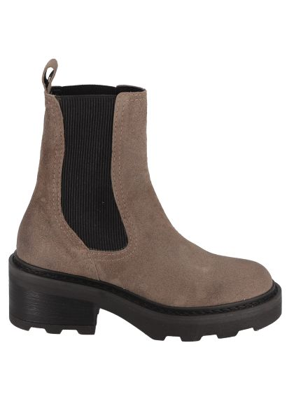 Boots chelsea MIKE CHELSEA OIL SUEDE Taupe
